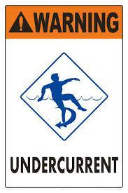 Pas op onderstroom